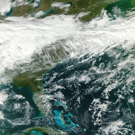 First VIIRS image