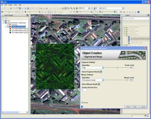 GUI for feature extraction in ENVI 5
