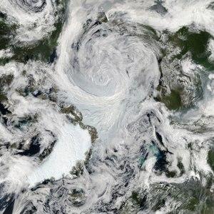 Large Arctic storm August 2012