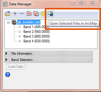 Converting ENVI classification data to an ArcGIS shapefile