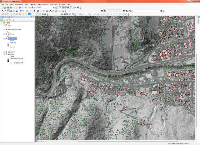 ENVI LiDAR Features in ArcGIS