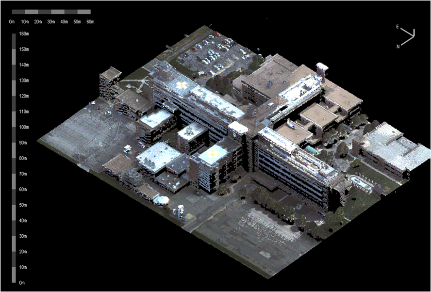 LiDAR Building, Exelis Defense & Intelligence